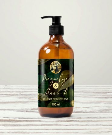 Magnolija & Vitamin A olje za nego kože